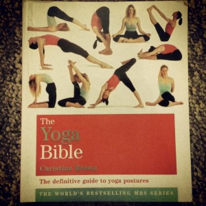 My little guide to yoga, when I can't attend the classes.