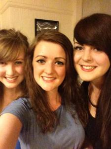 first and second year flat mates!