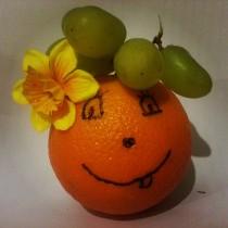Hello Miss Orange! :)