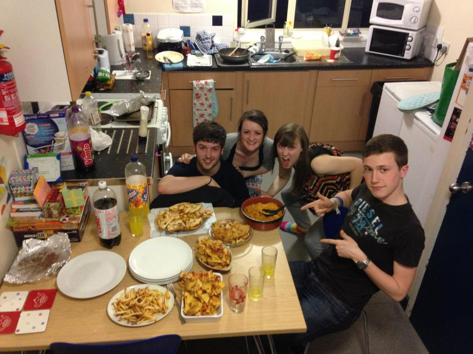 Have mature student living in halls