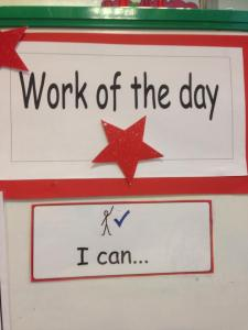 the work of the day board