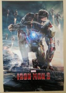 Iron Man poster, it's been pleasure to have you as the first thing I see in the morning!
