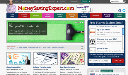 Websites3MoneySavingExpert