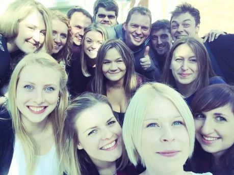 key to a successful PGCE year - good friends