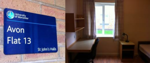 Avon Halls Room and Sign