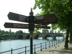 Diglis Basin sign